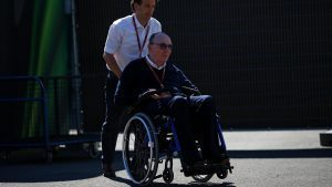 Frank Williams (GBR) Williams Team Owner at Formula One World Championship, Rd13, Belgian Grand Prix, Preparations, Spa Francorchamps, Belgium, Thursday 25 August 2016. © Sutton Images