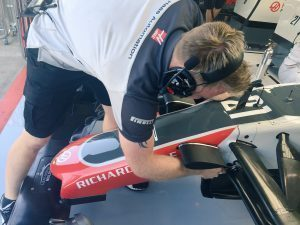 Haas F1 Team VF16 nose at Formula One World Championship, Rd13, Belgian Grand Prix, Spa Francorchamps, Belgium, August 2016. © Haas F1 Team