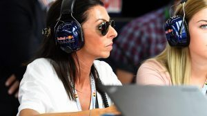 Sophie kumpen (NED) The Mother of Max Verstappen (BEL) Red Bull Racing at Formula One World Championship, Rd13, Belgian Grand Prix, Practice, Spa Francorchamps, Belgium, Friday 26 August 2016. © Sutton Images