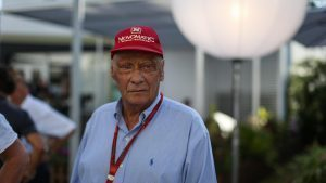 Niki Lauda (AUT) Mercedes AMG F1 Non-Executive Chairman at Formula One World Championship, Rd15, Singapore Grand Prix, Practice, Marina Bay Street Circuit, Singapore, Friday 16 September 2016. © Sutton Images