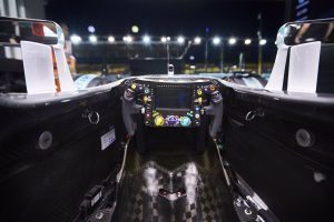 Cockpit view / Mercedes-Benz F1 W07 Hybrid at Formula One World Championship, Rd15, Singapore Grand Prix, Marina Bay Street Circuit, Singapore, September 2016. © Mercedes AMG Petronas F1 Team
