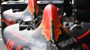 Red Bull Racing RB12 bodywork at Formula One World Championship, Rd16, Malaysian Grand Prix, Preparations, Sepang, Malaysia, Thursday 29 September 2016. © Sutton Images