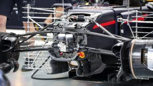 Red Bull Racing RB12 with aero sensors at Formula One World Championship, Rd16, Malaysian Grand Prix, Practice, Sepang, Malaysia, Friday 30 September 2016. © Sutton Images
