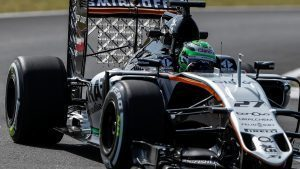Nico Hulkenberg (GER) Force India VJM09 with aero sensor at Formula One World Championship, Rd16, Malaysian Grand Prix, Practice, Sepang, Malaysia, Friday 30 September 2016. © Sutton Images