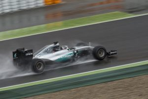 pic-2 / SIXTH TEST WITH MERCEDES AMG PETRONAS F1 TEAM: Nico Rosberg tests at Circuit de Barcelona-Catalunya, Spain, THE WIDER TYRES FOR NEXT SEASON