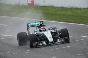 pic-7 / SIXTH TEST WITH MERCEDES AMG PETRONAS F1 TEAM: Pascal Wehrlein tests at Circuit de Barcelona-Catalunya, Spain, THE WIDER TYRES FOR NEXT SEASON