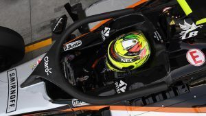 Sergio Perez (MEX) Force India VJM09 with halo at Formula One World Championship, Rd14, Italian Grand Prix, Practice, Monza, Italy, Friday 2 September 2016. © Sutton Images