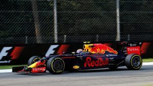 Max Verstappen (NED) Red Bull Racing RB12 at Formula One World Championship, Rd14, Italian Grand Prix, Practice, Monza, Italy, Friday 2 September 2016. © Sutton Images