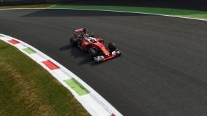 Kimi Raikkonen (FIN) Ferrari SF16-H at Formula One World Championship, Rd14, Italian Grand Prix, Practice, Monza, Italy, Friday 2 September 2016. © Sutton Images