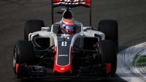 Romain Grosjean (FRA) Haas VF-16 at Formula One World Championship, Rd14, Italian Grand Prix, Practice, Monza, Italy, Friday 2 September 2016. © Sutton Images