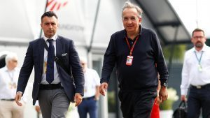 Sergio Marchionne (ITA) CEO FIAT at Formula One World Championship, Rd14, Italian Grand Prix, Race, Monza, Italy, Sunday 4 September 2016. © Sutton Images