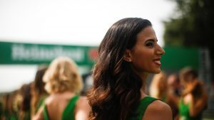 Grid girl at Formula One World Championship, Rd14, Italian Grand Prix, Race, Monza, Italy, Sunday 4 September 2016. © Sutton Images