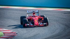 pic-3 / THIRD TEST WITH SCUDERIA FERRARI: Kimi Räikkönen tests at Circuit de Barcelona-Catalunya, Spain, THE WIDER TYRES FOR NEXT SEASON
