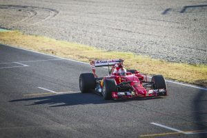 pic-1 / THIRD TEST WITH SCUDERIA FERRARI: Sebastian Vettel tests at Circuit de Barcelona-Catalunya, Spain, THE WIDER TYRES FOR NEXT SEASON