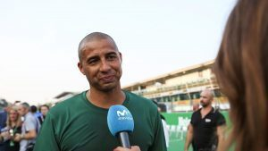 David Trezeguet (FRA) at Heineken Champions Of The Grid 5-A-Side Charity Football Match at Formula One World Championship, Rd14, Italian Grand Prix, Preparations, Monza, Italy, Thursday 1 September 2016. © Sutton Images
