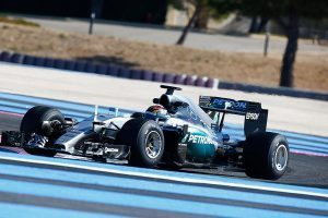 pic-1 / FOURTH TEST WITH MERCEDES AMG PETRONAS F1 TEAM: Pascal Wehrlein tests at Circuit Paul Ricard, France, THE WIDER TYRES FOR NEXT SEASON