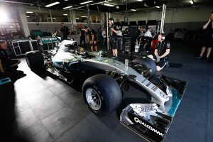 pic-5 / FOURTH TEST WITH MERCEDES AMG PETRONAS F1 TEAM: Pascal Wehrlein tests at Circuit Paul Ricard, France, THE WIDER TYRES FOR NEXT SEASON