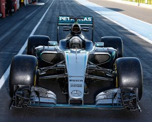 pic-6 / FOURTH TEST WITH MERCEDES AMG PETRONAS F1 TEAM: Pascal Wehrlein tests at Circuit Paul Ricard, France, THE WIDER TYRES FOR NEXT SEASON