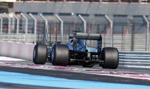 pic-7 / FOURTH TEST WITH MERCEDES AMG PETRONAS F1 TEAM: Pascal Wehrlein tests at Circuit Paul Ricard, France, THE WIDER TYRES FOR NEXT SEASON