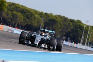 pic-10 / FOURTH TEST WITH MERCEDES AMG PETRONAS F1 TEAM: Pascal Wehrlein tests at Circuit Paul Ricard, France, THE WIDER TYRES FOR NEXT SEASON