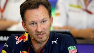 Christian Horner (GBR) Red Bull Racing Team Principal in the Press Conference at Formula One World Championship, Rd18, United States Grand Prix, Practice, Circuit of the Americas, Austin, Texas, USA, Friday 21 October 2016. © Sutton Images