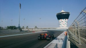 pic-13 / SEVENTH TEST WITH RED BULL RACING: Pierre Gasly tests at Yas Marina Circuit, Yas Island, Abu Dhabi, United Arab Emirates, THE WIDER TYRES FOR 2017 SEASON