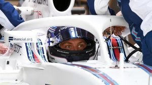 Valtteri Bottas (FIN) Williams FW38 with halo at Formula One World Championship, Rd18, United States Grand Prix, Practice, Circuit of the Americas, Austin, Texas, USA, Friday 21 October 2016. © Sutton Images