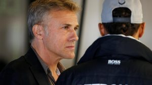 Christoph Waltz (AUT) Actor at Formula One World Championship, Rd18, United States Grand Prix, Qualifying, Circuit of the Americas, Austin, Texas, USA, Saturday 22 October 2016. © Sutton Images