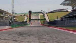 Track view at Formula One World Championship, Rd18, United States Grand Prix, Preparations, Circuit of the Americas, Austin, Texas, USA, Thursday 20 October 2016. © Sutton Images