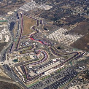 Bird's-eye view at Formula One World Championship, Rd18, United States Grand Prix, Preparations, Circuit of the Americas, Austin, Texas, USA, Thursday 20 October 2016.
