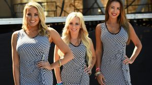 Grid girls at Formula One World Championship, Rd18, United States Grand Prix, Practice, Circuit of the Americas, Austin, Texas, USA, Friday 21 October 2016. © Sutton Images