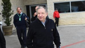 Jean Todt (FRA) FIA President at Formula One World Championship, Rd18, United States Grand Prix, Race, Circuit of the Americas, Austin, Texas, USA, Sunday 23 October 2016. © Sutton Images