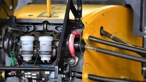 Renault Sport F1 Team RS16 chassis and front suspension detail at Formula One World Championship, Rd19, Mexican Grand Prix, Practice, Circuit Hermanos Rodriguez, Mexico City, Mexico, Friday 28 October 2016. © Sutton Images