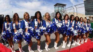 Grid girls at Formula One World Championship, Rd18, United States Grand Prix, Race, Circuit of the Americas, Austin, Texas, USA, Sunday 23 October 2016. © Sutton Images