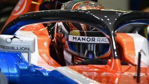Manor Racing MRT05 with halo at Formula One World Championship, Rd19, Mexican Grand Prix, Practice, Circuit Hermanos Rodriguez, Mexico City, Mexico, Friday 28 October 2016. © Sutton Images