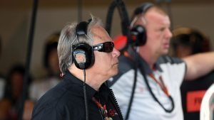 Gene Haas (USA) Founder and Chairman, Haas F1 Team at Formula One World Championship, Rd18, United States Grand Prix, Practice, Circuit of the Americas, Austin, Texas, USA, Friday 21 October 2016. © Sutton Images