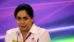 Monisha Kaltenborn (AUT) Sauber Team Prinicpal in the Press Conference at Formula One World Championship, Rd18, United States Grand Prix, Practice, Circuit of the Americas, Austin, Texas, USA, Friday 21 October 2016. © Sutton Images