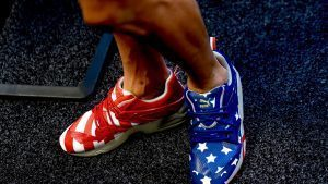 The shoes of Daniel Ricciardo (AUS) Red Bull Racing at Formula One World Championship, Rd18, United States Grand Prix, Preparations, Circuit of the Americas, Austin, Texas, USA, Thursday 20 October 2016. © Sutton Images