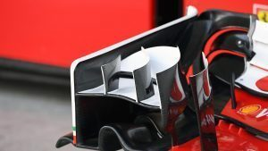 Ferrari SF16-H front wing detail at Formula One World Championship, Rd17, Japanese Grand Prix, Preparations, Suzuka, Japan, Thursday 6 October 2016. © Sutton Images