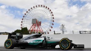 Nico Rosberg (GER) Mercedes-Benz F1 W07 Hybrid at Formula One World Championship, Rd17, Japanese Grand Prix, Practice, Suzuka, Japan, Friday 7 October 2016. © Sutton Images