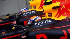 Daniel Ricciardo (AUS) Red Bull Racing and Max Verstappen (NED) Red Bull Racing in parc ferme at Formula One World Championship, Rd17, Japanese Grand Prix, Qualifying, Suzuka, Japan, Saturday 8 October 2016. © Sutton Images