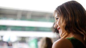 Grid girl at Formula One World Championship, Rd20, Brazilian Grand Prix, Race, Interlagos, Sao Paulo, Brazil, Sunday 13 November 2016. © Sutton Images