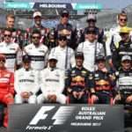 Driver group photo at Formula One World Championship, Rd1, Australian Grand Prix, Race, Albert Park, Melbourne, Australia, Sunday 26 March 2017. © Sutton Motorsport Images