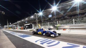 Felipe Nasr (BRA) Sauber C35 at Formula One World Championship, Rd21, Abu Dhabi Grand Prix, Practice, Yas Marina Circuit, Abu Dhabi, UAE, Friday 25 November 2016. © Sutton Images