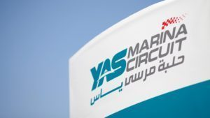 Logo at Formula One World Championship, Rd21, Abu Dhabi Grand Prix, Preparations, Yas Marina Circuit, Abu Dhabi, UAE, Thursday 24 November 2016. © Sutton Images