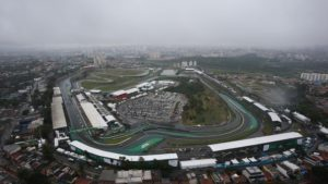 Aerial view at Formula One World Championship, Rd20, Brazilian Grand Prix, Race, Interlagos, Sao Paulo, Brazil, Sunday 13 November 2016. © Sutton Images