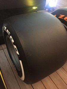 #Fit4F1 = 25% more tyre. © 2016 Pirreli & C. S.p.A.