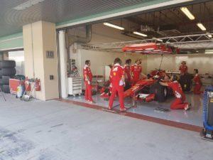 pic-7 / NINETH TEST WITH SCUDERIA FERRARI: Sebastian Vettel tests pirelli 2017 wider tyres at Yas Marina Circuit, Yas Island, Abu Dhabi, United Arab Emirates, THE WIDER TYRES FOR 2017 SEASON