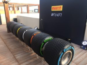 The full range of #Fit4F1 #Pirelli tyres for 2017 #AbuDhabiGP #F1 @ymcofficial © 2016 Pirreli & C. S.p.A.