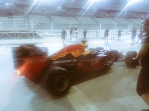 pic-2 / EIGHTH TEST WITH RED BULL RACING: Pierre Gasly tests pirelli 2017 wider wet tyres at Yas Marina Circuit, Yas Island, Abu Dhabi, United Arab Emirates, THE WIDER TYRES FOR 2017 SEASON